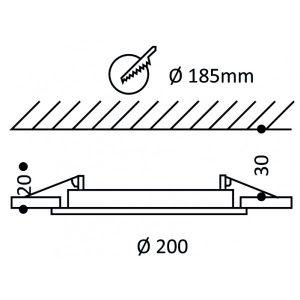 led-paneelivalaisin-plafondi-200-15w-ip44-himmennettava-b07